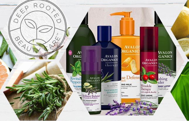 Avalon Organics non toxic beauty products
