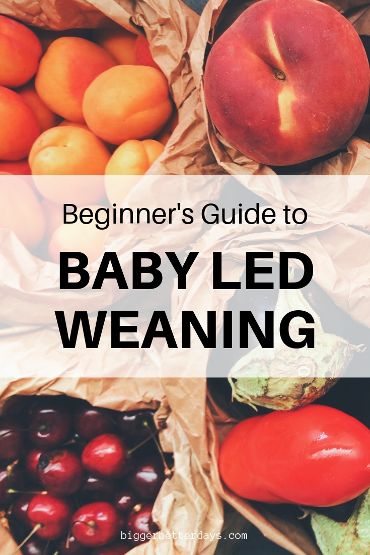 complete beginners guide to baby led weaning