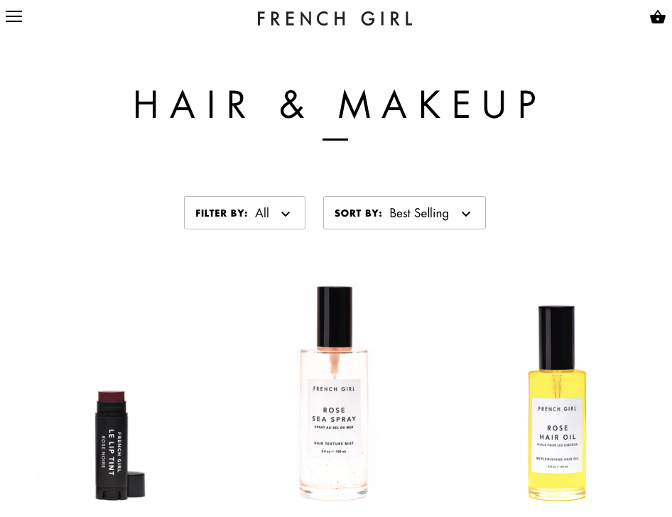 French girl organics non toxic beauty products