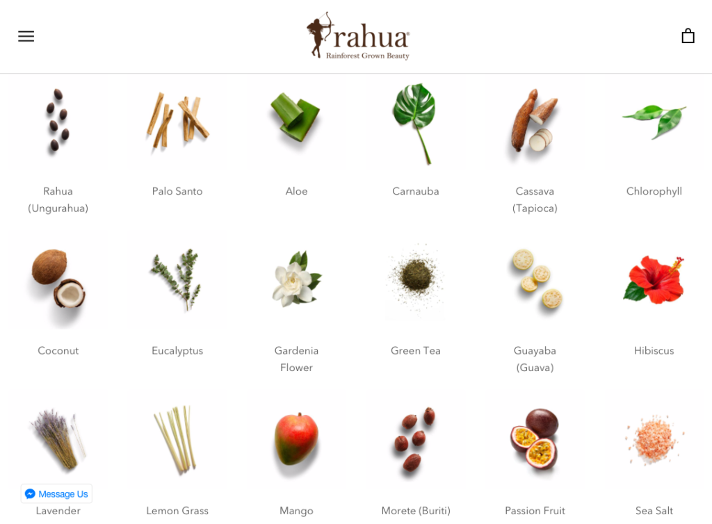 Rahua non toxic beauty products