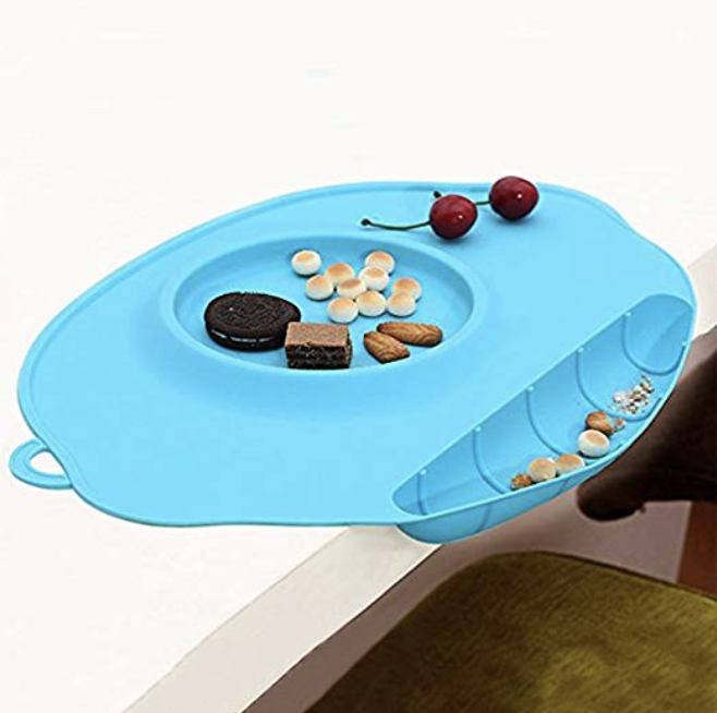 tlhome silicone baby placemat