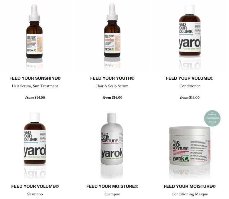 Yarok non toxic beauty products