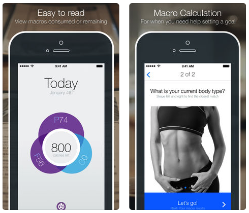 Fitocracy macros macrobiotic diet app