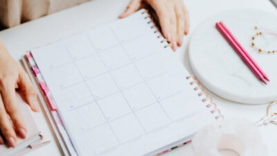 simple 12 week year template better productivity