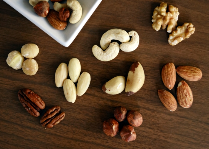 healthy snacks for weight loss nuts