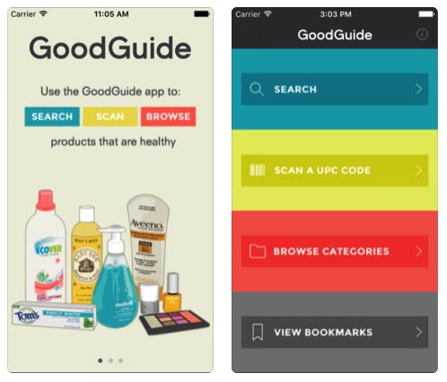 good guide natural cleaning products app