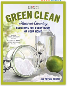 green clean natural cleaning products book