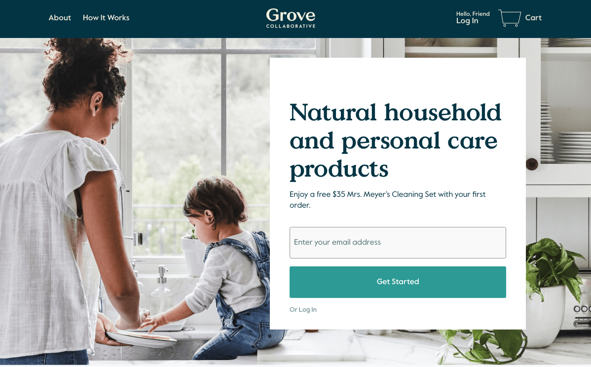 grove co buy natural cleaning products online