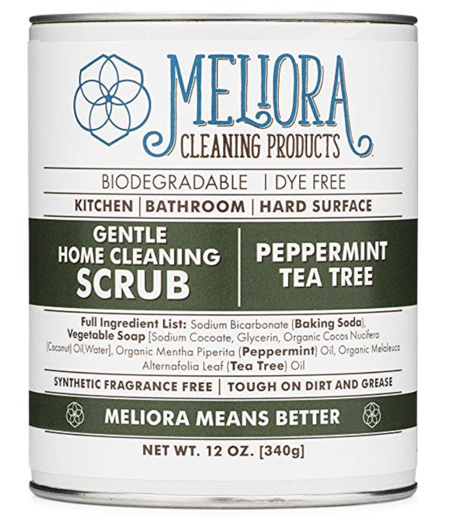 meliora cleaning scrub natural cleaning product
