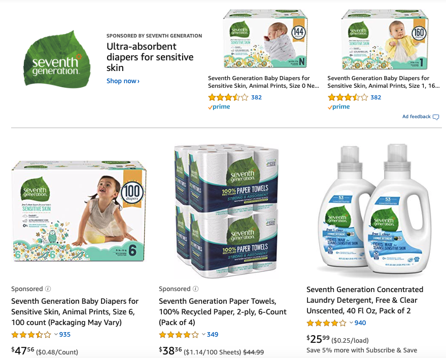 seventh generation natural cleaning product