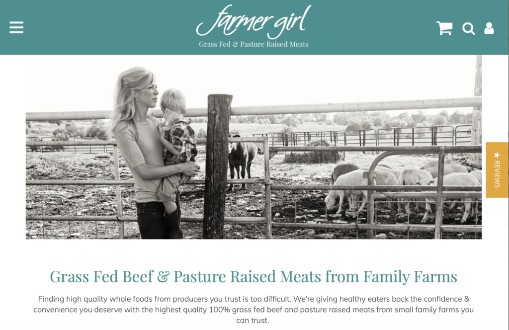 farmer girl organic meat delivery services