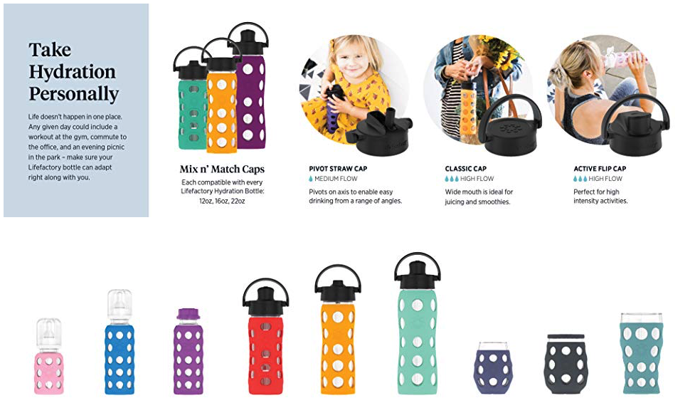 life factory toxin free water bottles