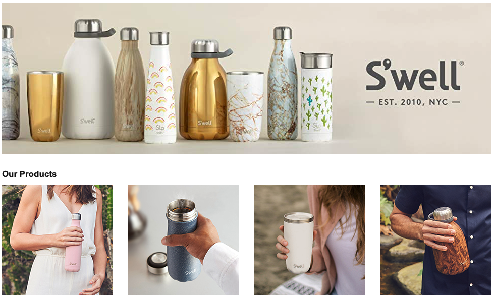 swell toxin free water bottles