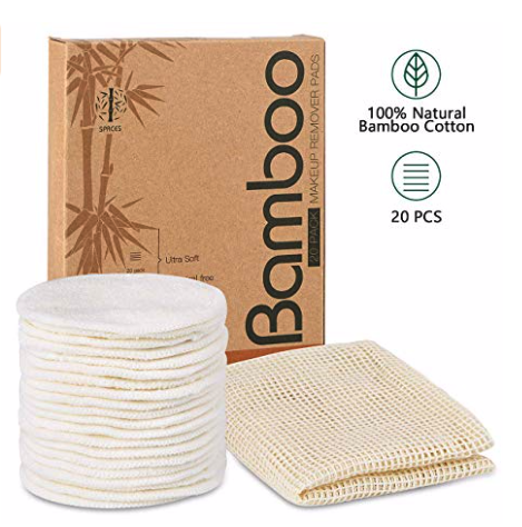 eco friendly lifestyle organic reusable cotton rounds