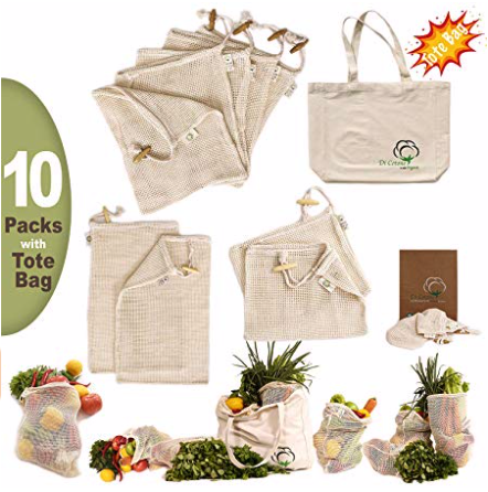 eco friendly lifestyle organic shopping bags