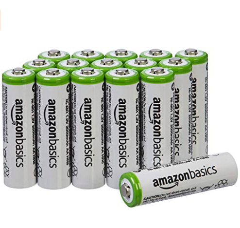 eco friendly lifestyle reusable batteries