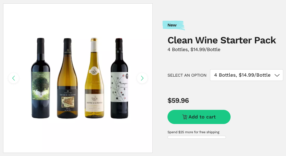 thrive market organic wine start pack