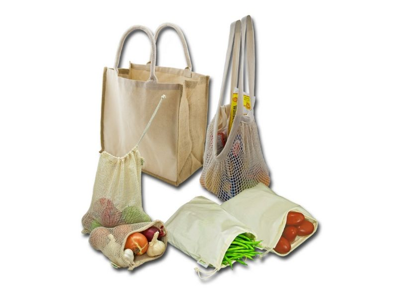 eco friendly gift ideas for anyone reusable shopping bags
