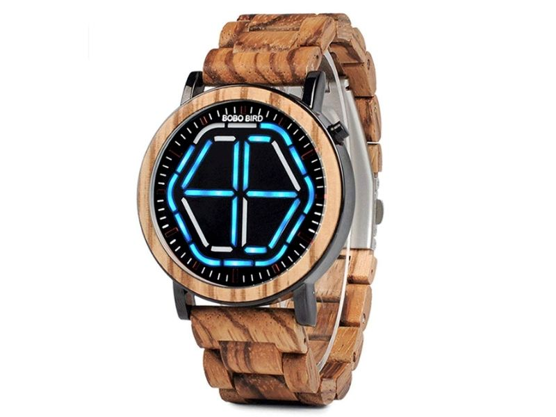 eco friendly gifts for men bamboo watch