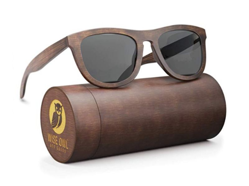 eco friendly gifts for men wooden sunglasses