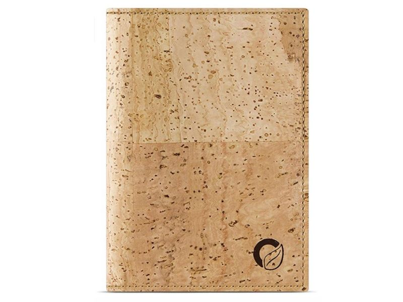 eco friendly gift ideas for anyone cork passport wallet