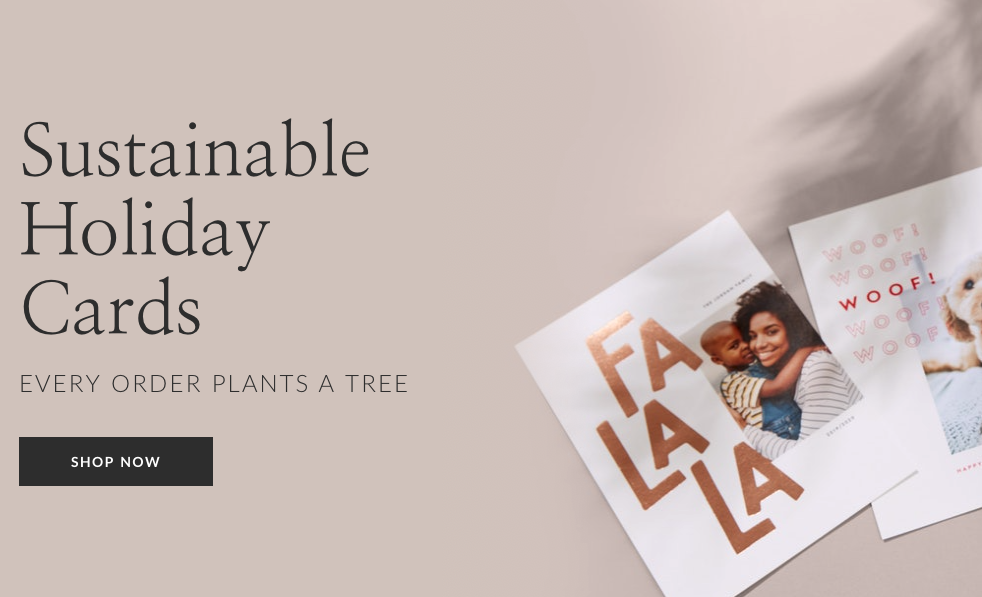 eco friendly holiday cards sustainable paper culture