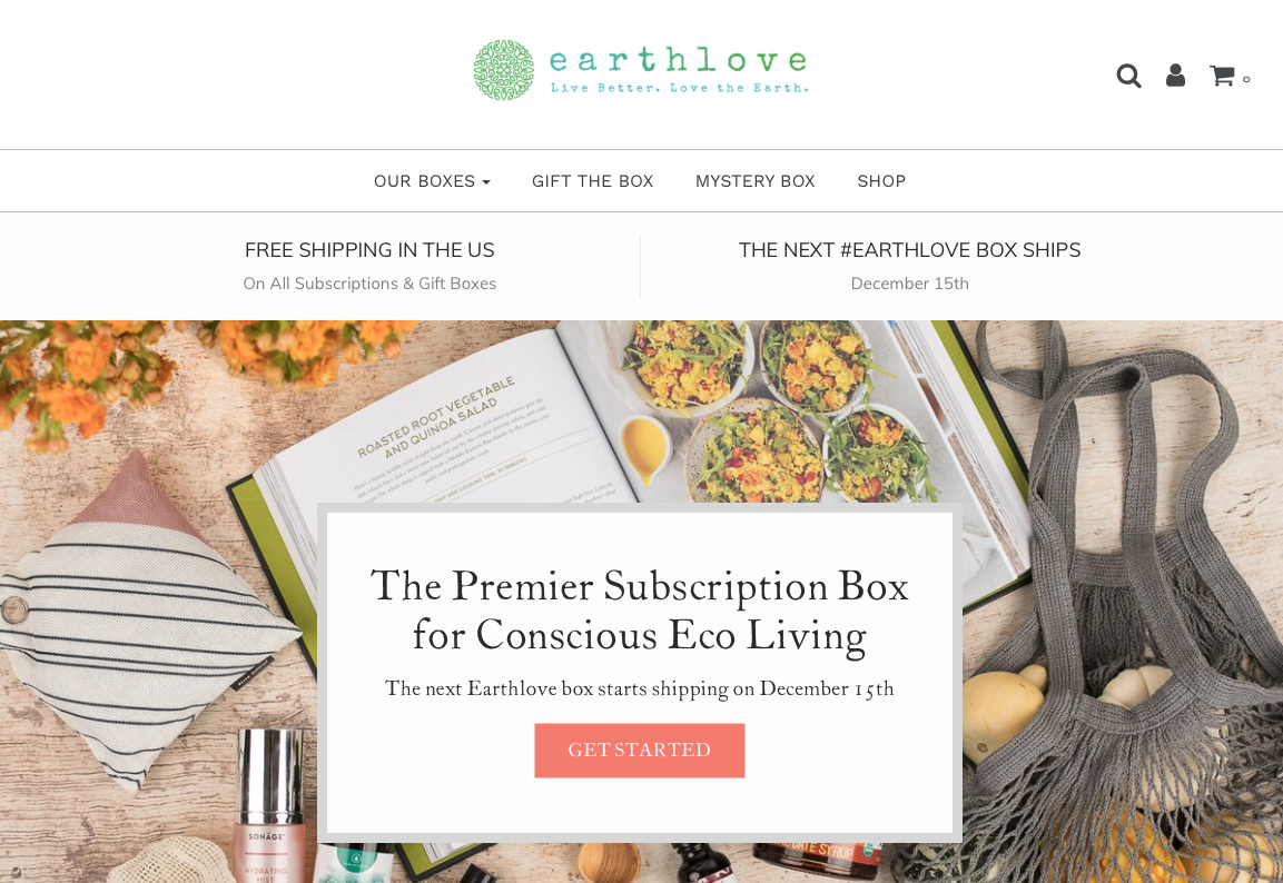 ethical subscription gift ideas earth love