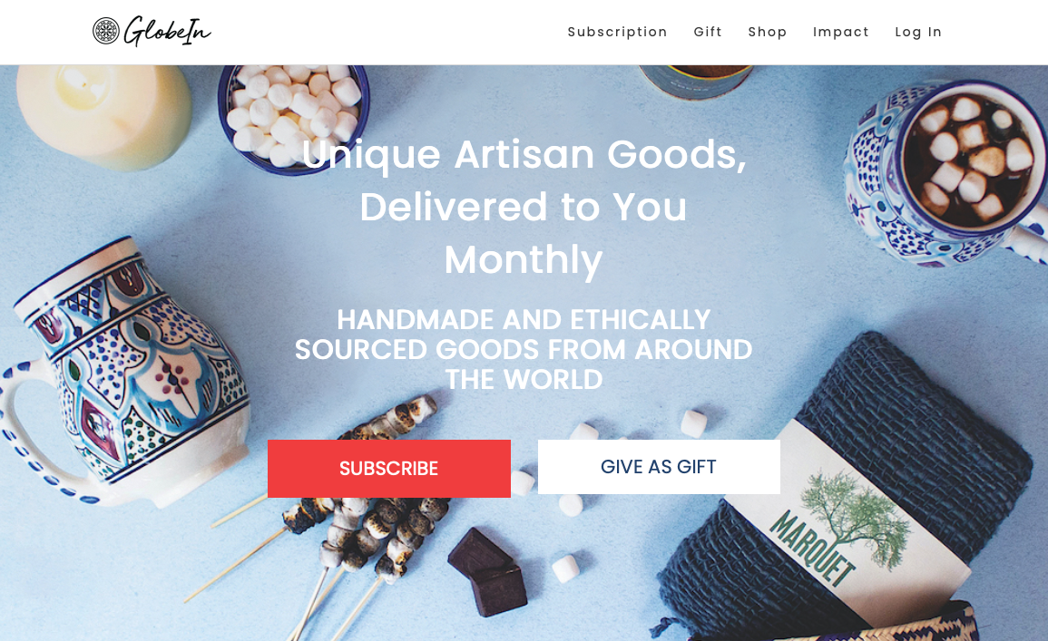 ethical subscription gift ideas globein