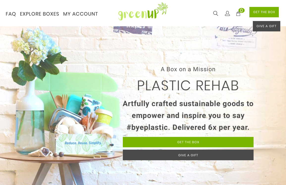 ethical subscription gift ideas greenup