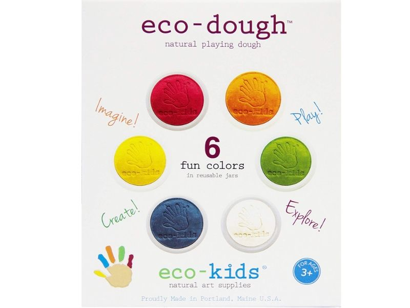 non toxic kids gift ideas eco kids dough