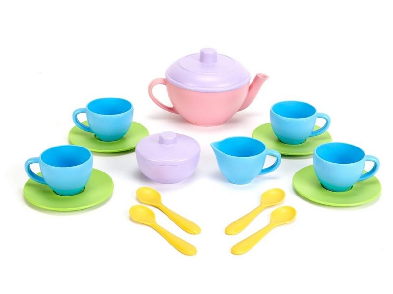 non toxic kids gift ideas green toys tea set