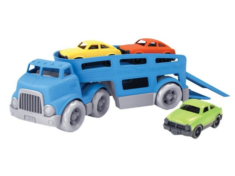 non toxic kids gift ideas green toys truck set