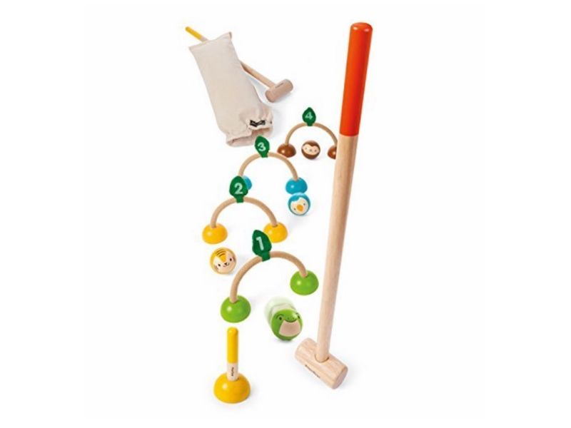 non toxic kids gift ideas plantoys croquet set