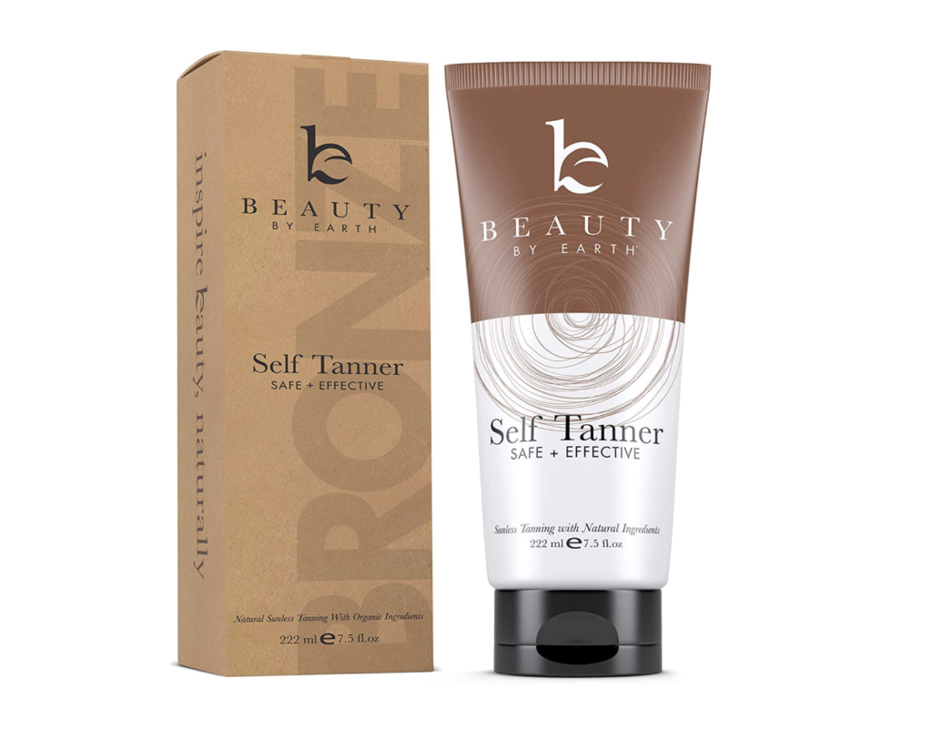 organic self tanner beauty by earth