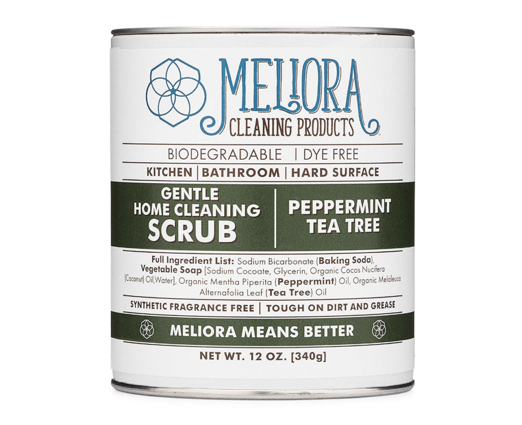 meliora cleaning products scrub review bigger better days