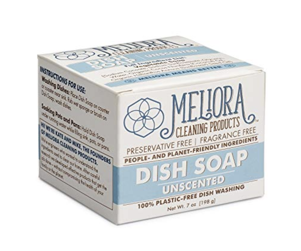 meliora cleaning products dish soap review bigger better days