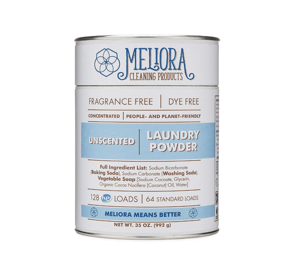meliora cleaning products laundry powder review bigger better days