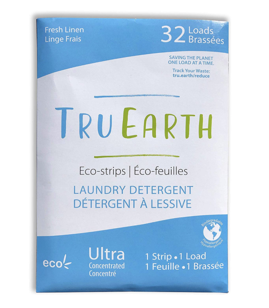 zero waste laundry detergent truearth laundry strips